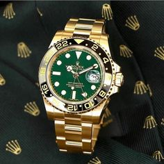 The 50th Anniversary Green Dial GMT Master II 18K Yellow Gold