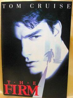 Movie Program Japan- FIRM, THE /1993/ TOM CRUISE, GENE HACKMAN, Sydney Pollack
