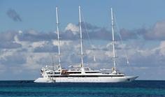 Petites Antilles: une croisière en voilier - Le Ponant, dans un lagon de Tobago Cays, dans les Grenadines.  Photo Sarah Bergeron-Ouellet / Agence QMI