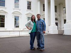 our first anniversary | Washington, DC - white house tour