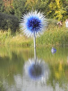 Dale Chihuly Glass at Meijer Garden Sculptor Park. Grand Rapid, Michigan - 2010