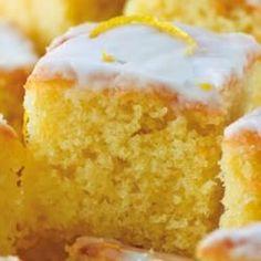 Tangy lemon drizzle cake