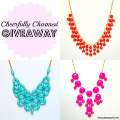 Jessica Who?: cheerfully charmed [giveaway]
