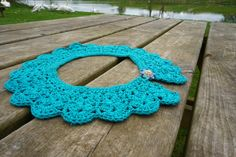 A personal favourite from my Etsy shop https://www.etsy.com/ie/listing/530806499/statement-crochet-necklace-statement