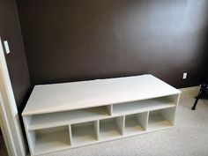 Worth Pinning: Playroom storage solution