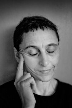 Anne Teresa De Keersmaeker (1960) - Belgian and one of the most prominent choreographers in contemporary dance. Photo © David Samyn