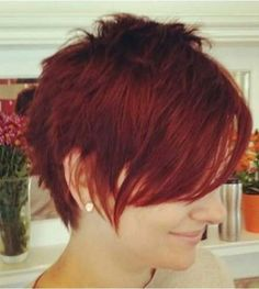19. Pixie Cut with Bang