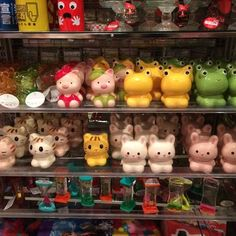 Daiso - Seattle, WA, United States. The most adorable piggy banks