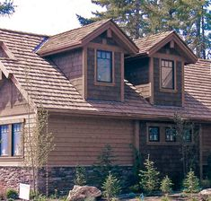 cedar and stucco exteriors | Traditionally, for many generations, one of the preferred exterior ...