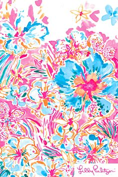 Resort Escape Floral - Lilly Pulitzer x Starbucks 2017