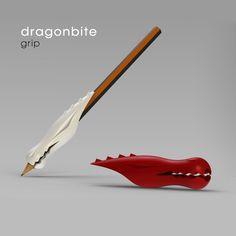 Free Dragonbite: grip STL file, Lab02