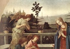 Adoration of the Child (detail) by LIPPI, Filippino #art