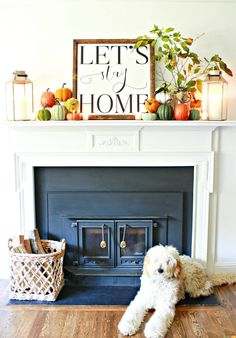 The best fall mantel