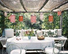 indoor garden lanterns pergola with outdoor dining area. Furniture, Awesome Indoor Garden Design Pictures Ideas For Modern House Outdoor Rooms, Outdoor Dining, Outdoor Decor, Dining Area, Outdoor Seating, Dining Decor, Dining Room, Garden Seating, Patio Dining