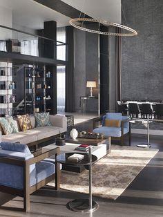Le Méridien Istanbul Etiler—Presidential Suite Living - Vertical - Library Side by LeMeridien Hotels and Resorts, via Flickr