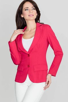 Call off the search with our Red Fitted Waist Classic Blazer Jacket. Shop unique fashion at SilkFred Core Wardrobe, Unique Fashion, Blazer Jacket, Work Wear, Boutique, Classic, Fitness, Jackets, Clothes