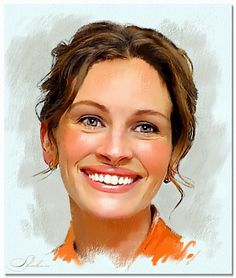 Julia Roberts by shahin {digital art}