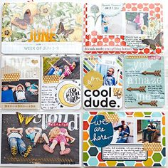 Heather Greenwood | Scrapbooker + Mixed Media Artist: Project Life 2013 - Week 23