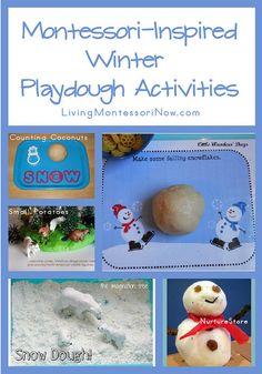 Montessori-Inspired Winter Playdough Activities by Deb Chitwood, via Flickr