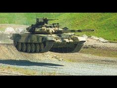 Russian tank T-90. Abrams cant do so.