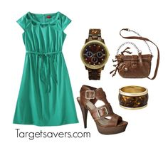Target Dress + Accessories