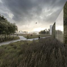 Housing Estate Proposal / Mikolai Adamus & Igor Brozyna,park