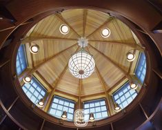 Watch Hill - Shope Reno Wharton Dome Ceiling, Ceiling Detail, Ceiling Design, Skylight Design, Shingle Style Architecture, Architecture Details, New England Homes, Interior Photo, Modern Interior