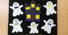 """I found the cutest little rhyme on youtube this week as I was looking for ideas for my halloween programs! This is a twist on """"This Little ..."""