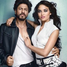 shanina shaik and shahrukh khan