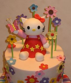 Hello Kitty from The Icing on the Cake: Cakes for Girls