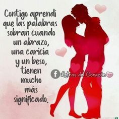 🥇+500 IMAGENES DE AMOR con FRASES para Whatsapp ◁ Sexy Love Quotes, Gods Love Quotes, Amor Quotes, Romantic Love Quotes, Love Phrases, Love Words, Love In Spanish, Love Qutoes, Blessing Words