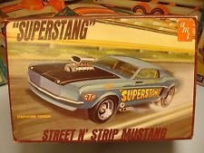 "AMT FORD ""SUPERSTANG"" STREETnSTRIP SHOWnGO #T241-200 MPC 1/25 VINTAGE MODEL KIT"