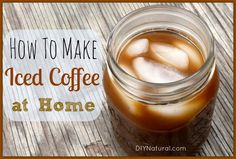 Iced Coffee Recipe - How To Brew it At Home – This iced coffee recipe will save you money over and over again. It's super easy to make at home and tastes much less bitter than coffee brewed with hot water