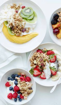 Breakfast Bowls 5 Ways from www.whatsgabycooking.com - an easy way to keep breakfast exciting! (@whatsgabycookin)