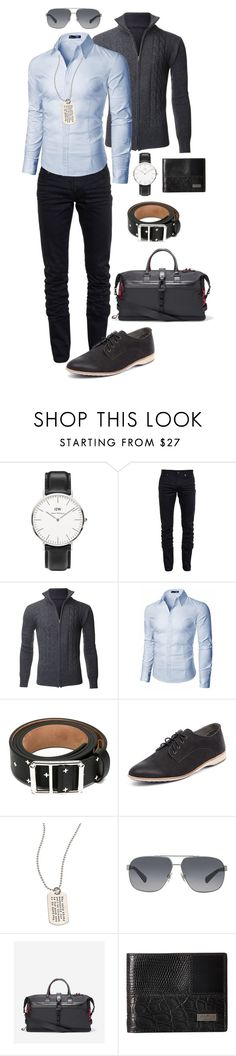 """""""Relax, man!"""" by prechntheword ❤ liked on Polyvore featuring beauty, Daniel Wellington, Yves Saint Laurent, Doublju, Givenchy, Rollie, Metal Pressions, Dolce&Gabbana, Cole Haan and Salvatore Ferragamo"""