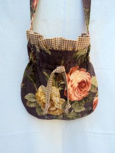 Fun funky shabby chic handbag.