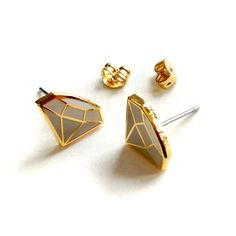 Diamond Ear Studs | Mehoi | Fab.com