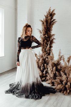 Romantic wedding photography poses - score mind blowing tips from this photo display. Black Wedding Dresses, Wedding Wear, Summer Wedding, Bridal Dresses, Wedding Gowns, Dream Wedding, Renewal Wedding, Wedding Stuff, Gothic Wedding