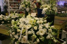 Funeral Arrangement at Exotic Flowers