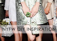 DIY Inspiration from New York Fashion Week