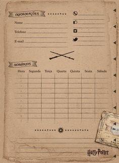 Caderno Universitário Espiral Capa Dura 1X1 96 folhas Jandaia Harry Potter Brasão Vermelho