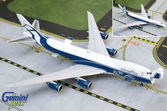 < > GEMINI JETS AIR BRIDGE CARGO B747-8F 1:400 NOSE... Jet Air, Boeing 747 400, Cargo Aircraft, Airplane Toys, Air France, Gemini, Diecast, Activities For Kids, Aviation