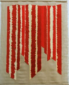 Textile art  wall hanging  hand embroidered by zlalikovatextiles, £650.00