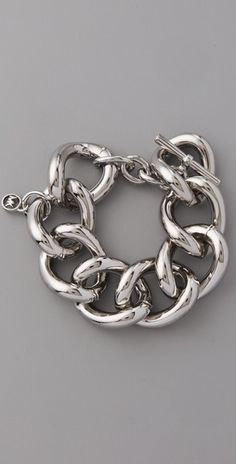 lovin big silver bracelets right now