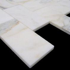 (http://www.carraratiles.com/calacatta-gold-italian-marble-3x6-subway-tile-honed.html)