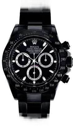 Blacked out Rolex Daytona - Bamfor Watch Department