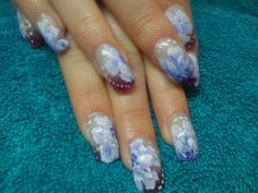 flower one stroke. only £10 extra to your acrylics or gels . Or a £1 a finger.