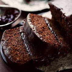 The recipe says gingerbread, but it contains plum jam, cinnamon, coffee and chocolate. And the frosting is no promise of low cal either - but YUUUUUUUUUUMMMMMY looking and a must-try!
