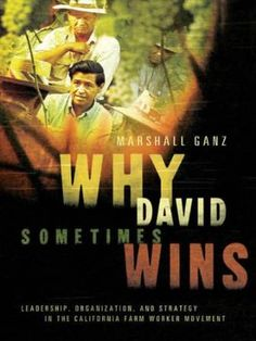 Based on the farmworkers movement in the United States Ganz uses Biblical stories, in the Rabbinical tradition, to examine how communities are created through narratives and sustained human engagement. Ganz's book is about narrative, community and redemption of the powerless.