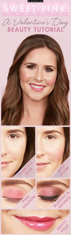 Sweet Pink: A Valentine's Day Makeup Tutorial